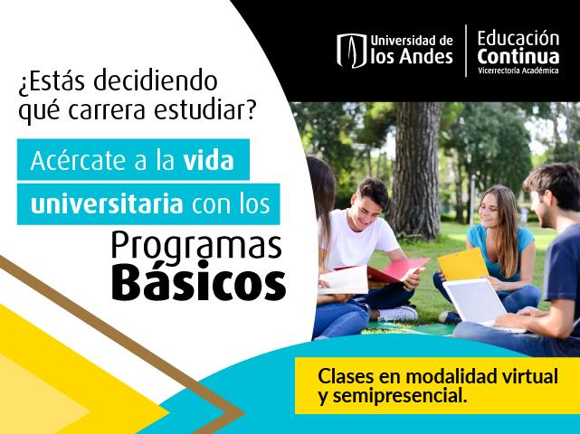 Programa básico Educación